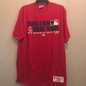 Majestic Red Sox T